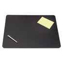 ARTISTIC LLC AOP510081 Sagamore Desk Pad W/decorative Stitching, 38 X 24, Black