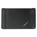 ARTISTIC LLC AOP513361 Sagamore Desk Pad W/flip-Open Side Panels, 36 X 20, Black