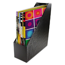 Artistic AOPART20004 Urban Collection Punched Metal Magazine File, 3 1/2 X 10 X 11 1/2, Black