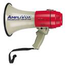 AMPLIVOX PORTABLE SOUND SYS. APLS601 Mitymeg Piezo Dynamic Megaphone, 15w, 5/8 Mile Range