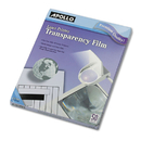 Apollo APOCG7060 B/w Laser Transparency Film W/o Sensing Stripe, Letter, Clear, 50/box