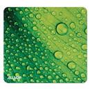 allsop 31624 Naturesmart Mouse Pad, Leaf Raindrop, 8 1/2 x 8 x 1/10