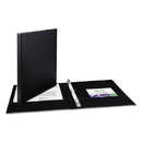 AVERY-DENNISON AVE03201 Economy Non-View Binder With Round Rings, 11 X 8 1/2, 1/2