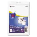 Avery AVE05408 Removable Multi-Use Labels, 3/4