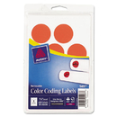 Avery AVE05497 Printable Removable Color-Coding Labels, 1 1/4