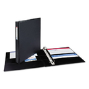AVERY-DENNISON AVE08302 Durable Binder With Two Booster Ezd Rings, 11 X 8 1/2, 1