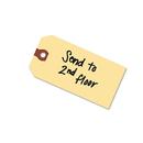 AVERY-DENNISON AVE12308 Unstrung Shipping Tags, 13-Pt. Stock, 6 1/4 X 3 1/8, Manila, 1,000/box