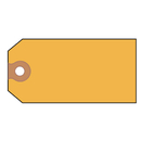 AVERY-DENNISON AVE12325 Unstrung Shipping Tags, Paper, 4 3/4 X 2 3/8, Yellow, 1,000/box