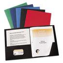 AVERY-DENNISON AVE47975 Two-Pocket Folder, Prong Fastener, Letter, 1/2