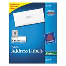 AVERY-DENNISON AVE5351 Copier Mailing Labels, 1 X 2 13/16, White, 3300/box