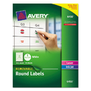 Avery AVE6450 Removable Multi-Use Labels, 1