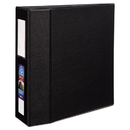 AVERY-DENNISON AVE79994 Heavy-Duty Binder With One Touch Ezd Rings, 11 X 8 1/2, 4