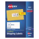 Avery AVE8463 Shipping Labels W/ultrahold Ad & Trueblock, Inkjet, 2 X 4, White, 1000/box