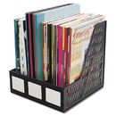 Advantus AVT34091 Literature File, Three Slots, Black