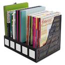 Advantus AVT34092 Literature File, Five Slots, Black