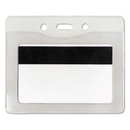 Advantus AVT75411 Security Id Badge Holder, Horizontal, 3 7/8w X 2 5/8h, Clear, 50/box