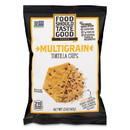 Food Should Taste Good GEM81233 Tortilla Chips, Multigrain with Sea Salt, 1.5 oz, 24/Carton