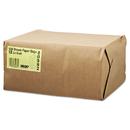 General BAGGK12500 #12 Paper Grocery Bag, 40lb Kraft, Standard 7 1/16 X 4 1/2 X 13 3/4, 500 Bags