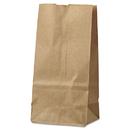 General BAGGK2500 #2 Paper Grocery Bag, 30lb Kraft, Standard 4 5/16 X 2 7/16 X 7 7/8, 500 Bags