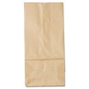 General BAGGK5500 #5 Paper Grocery Bag, 35lb Kraft, Standard 5 1/4 X 3 7/16 X 10 15/16, 500 Bags