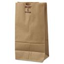 General BAGGX6500 #6 Paper Grocery Bag, 50lb Kraft, Extra-Heavy-Duty 6 X 3 5/8 X 11 1/16, 500 Bags