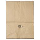 General BAGSK1657 1/6 Bbl Paper Grocery Bag, 57lb Kraft, Standard 12 X 7 X 17, 500 Bags