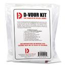 Big D Industries BGD169 D'vour Clean-up Kit, Powder, All Inclusive Kit, 6/Carton