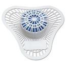 Big D Industries 065900 Non-Para Urinal Screen, Lasts 30 Days, White, Evergreen Fragrance, Dozen