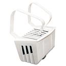 Big D Industries BGD661 Non-Para Toilet Bowl Block, Lasts 30 Days, White, Evergreen Fragrance, 12/box