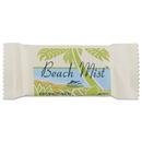Beach Mist BHMNO34A Face And Body Soap, Beach Mist Fragrance, .75oz Bar, 1000/carton