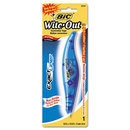 Bic BICWOELP11 Wite-Out Exact Liner Correction Tape, Non-Refillable, Blue, 1/5