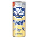 Bar Keepers Friend BKF 11514 Powdered Cleanser and Polish, 21 oz Can, 12/Carton