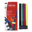Belkin BLKF8B024 Multicolored Cable Ties, 6/pack
