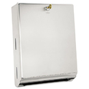 Bobrick BOB262 Surface-Mounted Paper Towel Dispenser, 10 3/4 X 4 X 14, Satin Stainless Steel