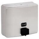 Bobrick BOB4112 Conturaseries Surface-Mounted Soap Dispenser, 40oz, Stainless Steel Satin