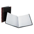Boorum & Pease BOR16021215F Record Ruled Book, Black Cover, 150 Pages, 10 1/8 X 12 1/4