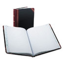 Boorum & Pease BOR21300R Columnar Accounting Book, Record Rule, Black Cover, 300 Pages, 8 1/8 X 10 3/8