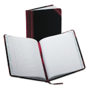 Boorum & Pease BOR38150R Record/account Book, Record Rule, Black/red, 150 Pages, 9 5/8 X 7 5/8