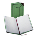 Boorum & Pease BOR6718150R Record/account Book, Record Rule, Green/red, 150 Pages, 12 1/2 X 7 5/8