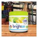 BRIGHT Air 900248 Super Odor Eliminator, Zesty Lemon and Lime, 14 oz, 6/Carton