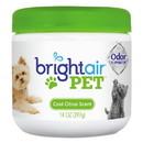 BRIGHT Air 900258 Pet Odor Eliminator, Cool Citrus, 14 oz Jar, 6/Carton