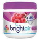BRIGHT Air 900286CT Super Odor Eliminator, Wild Raspberry & Pomegranate, 14 oz Jar, 6/Carton