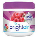 BRIGHT Air 900286EA Super Odor Eliminator, Wild Raspberry & Pomegranate, 14 oz Jar