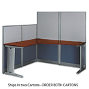 BUSH INDUSTRIES BSHWC36494A203 L-Workstation (box 2 Of 2) Office-In-An-Hour, Hansen Cherry