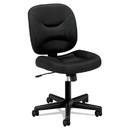 Basyx BSXVL210MM10 Vl210 Series Mesh Low-Back Task Chair, Black