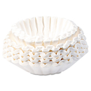 BUNN BUNBCF250CT Flat Bottom Coffee Filters, Paper, 12-Cup Size