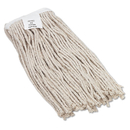 UNISAN BWK2016CEA Cut-End Wet Mop Head, Cotton, No. 16 Size, White