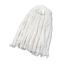 Boardwalk BWK2024RCT Cut-End Wet Mop Head, Rayon, No. 24, White, 12/Carton