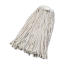 UNISAN BWK2032CEA Cut-End Wet Mop Head, Cotton, No. 32, White
