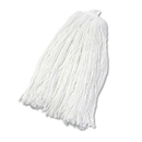 Boardwalk BWK2032RCT Cut-End Wet Mop Head, Rayon, No. 32, White, 12/Carton